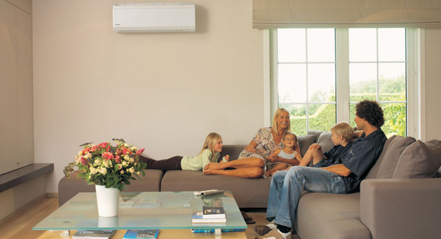 Comfort for the whole family in each and every room of your home