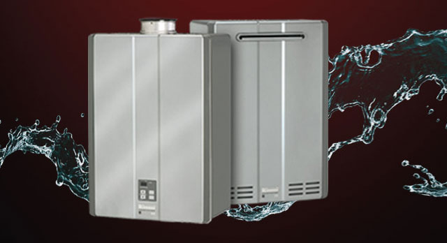 With a tankless hot water heater you have lots of hot water to go around!