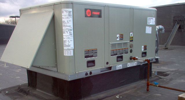 Rooftop Units Duct : Rooftop units trane heating air