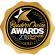 Readers Choice Award 2018 - Burlington Post